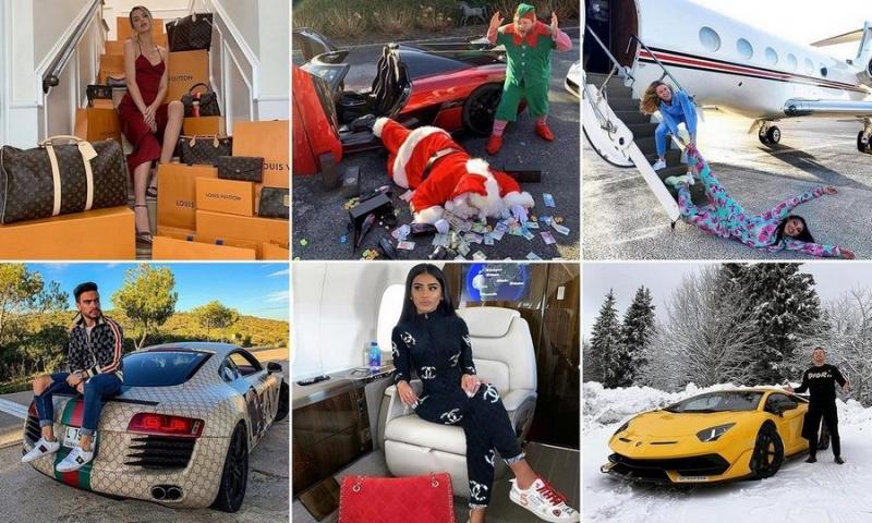 Богатые детки Instagram хвастаются рождественскими подарками