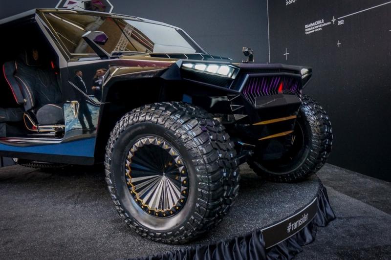 Белорусский ответ «Хаммеру»: гипервнедорожник Ramsmobile за 109 миллионов с гусеницей и кальяном - «Хорошее настроение»