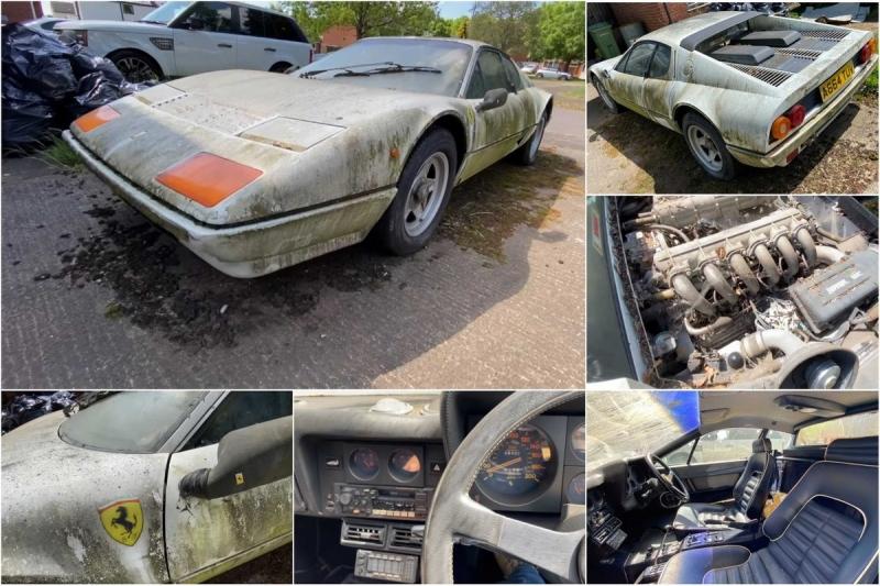 Печальная история Ferrari с 6420 милями на одометре, принадлежавшего Саудовскому Принцу - «Хорошее настроение»