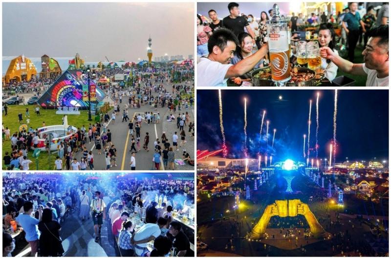 Ежегодный фестиваль пива в Циндао - «Хорошее настроение»