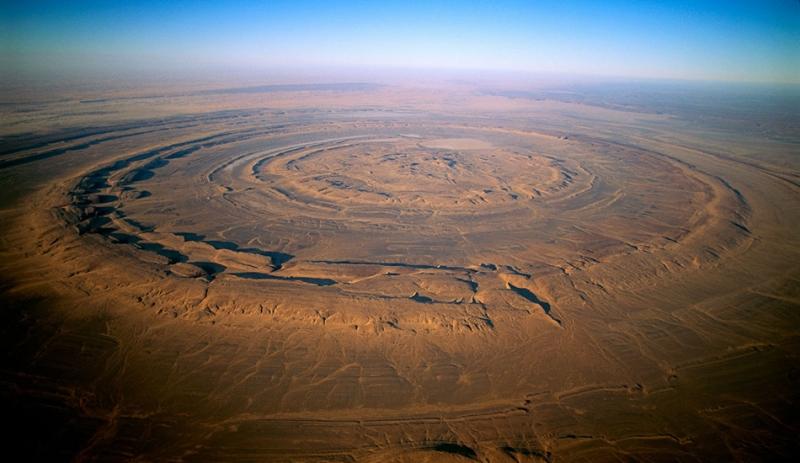 Геологическая аномалия, которую видно даже из Космоса - «Фото»