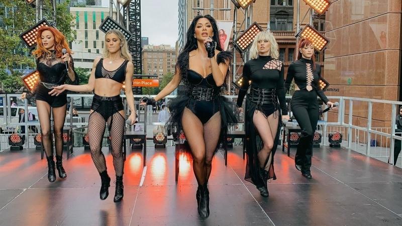 Pussycat Dolls в Сиднее - «Хорошее настроение»