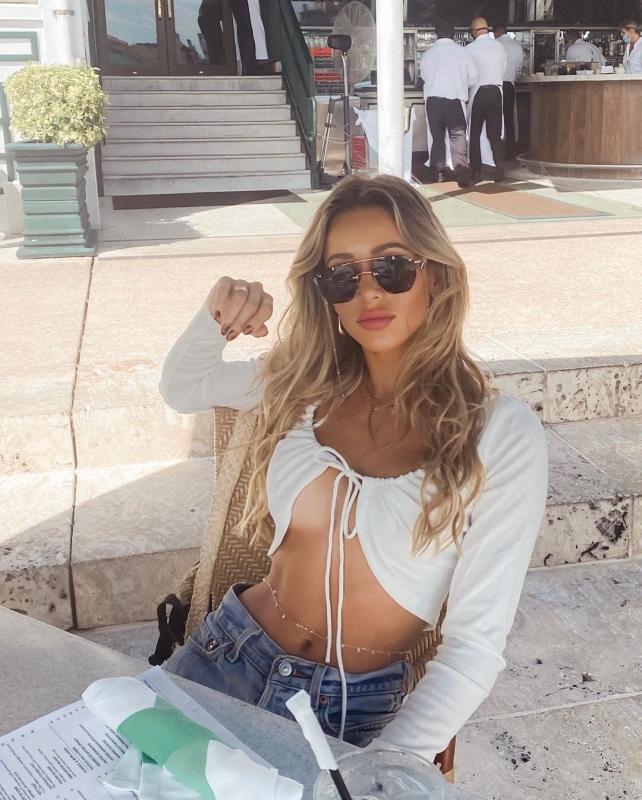 Синди Прадо на фото в Instagram - «Хорошее настроение»