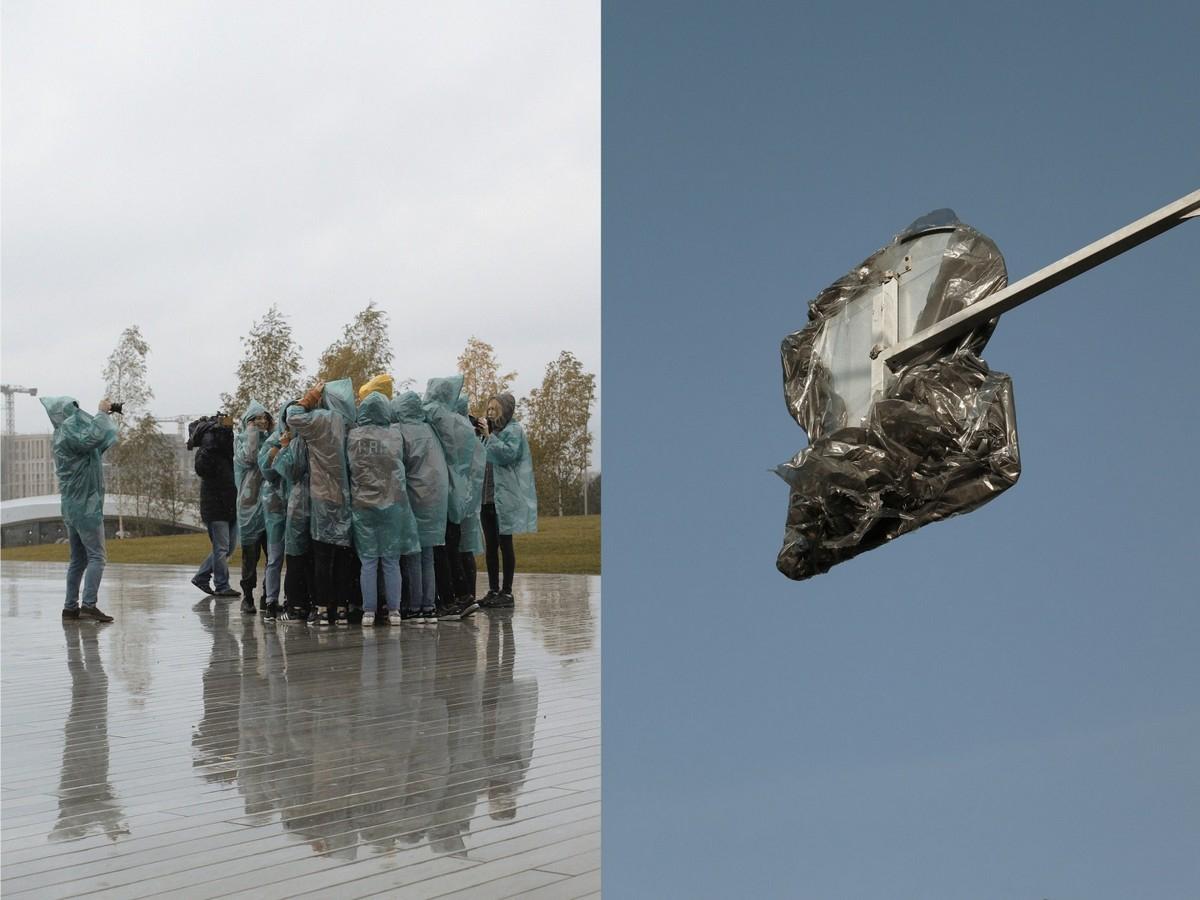 Интересные совпадения на снимках Полины Чернэ Ерохиной - «Хорошее настроение»