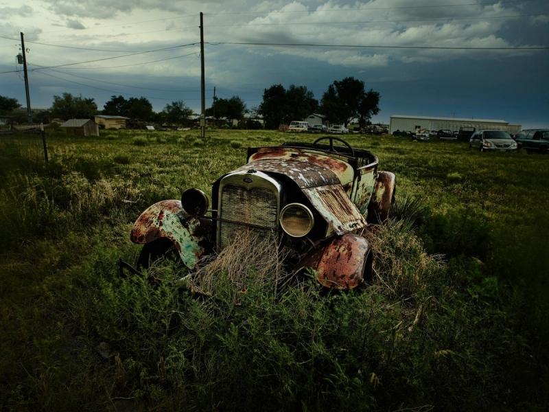 Ностальгическая красота брошенных автомобилей на снимках Дитера Кляйна - «Хорошее настроение»