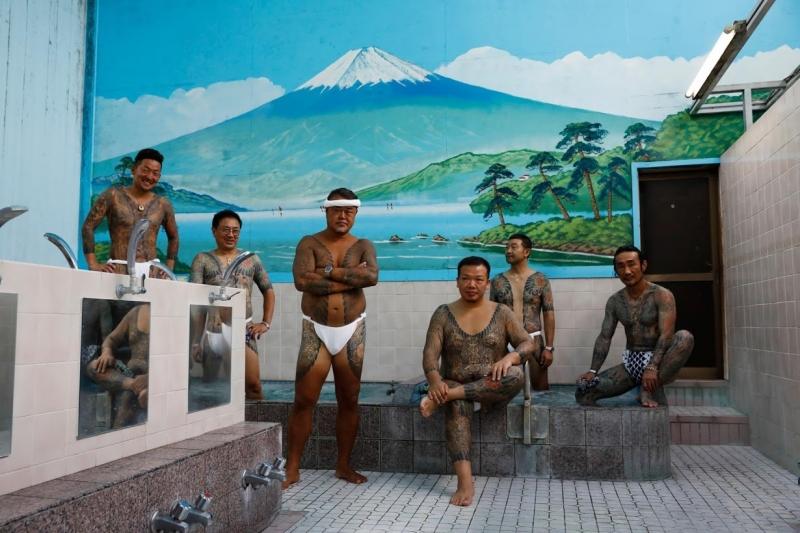 Поклонники татуировок из Японии - «Хорошее настроение»
