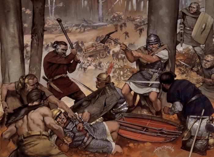 Факты про битву в Тевтобургском лесу