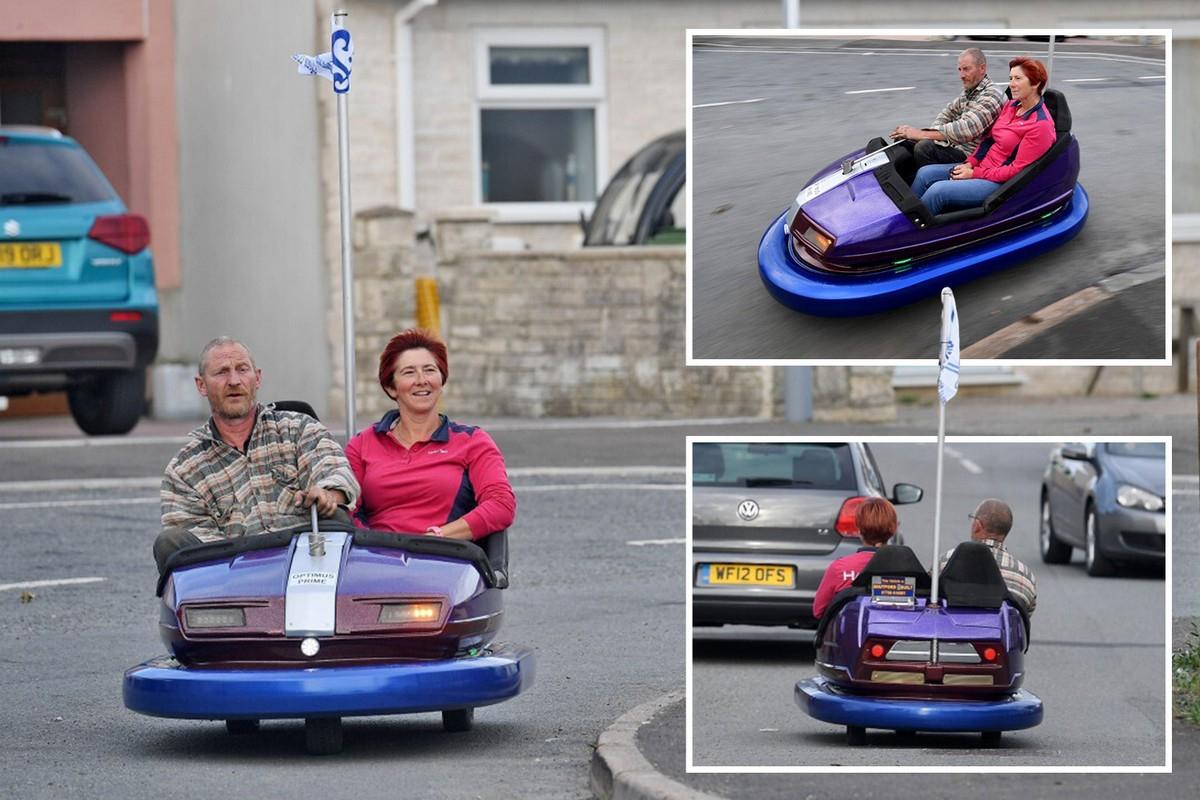 Британец сделал классный автомобильчик из ярмарочной машинки за €30 - «Хорошее настроение»