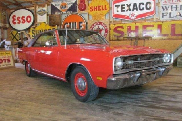 Dodge Dart Swinger 1969 года выпуска, почти 40 лет простоявший в гараже - «Хорошее настроение»