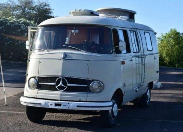 Уютный автодом из старого Mercedes-Benz - «Хорошее настроение»