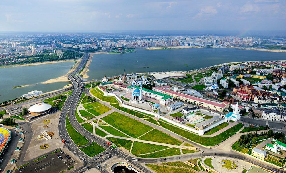 Казань - один из самых туристических городов России