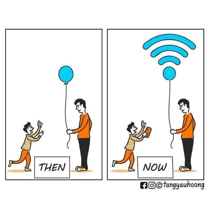Комиксы с забавным и неожиданным финалом от Тан Яу Хунга