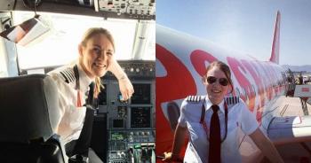 26-летняя британка — самый молодой в мире капитан авиалайнера ! - «Фото»
