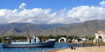 Иссык-Куль — самое большое и красивое озеро Киргизии (15 фото) - «Хорошее настроение»