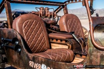 Постапокалиптический хот-род на базе Jeep Willy 1947 года (23 фото) - «Хорошее настроение»