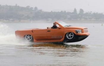 Лодка-автомобиль (18 фото) - «Хорошее настроение»