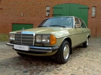 Абсолютно новый, законсервированный Mercedes-Benz E-class W123 1984 года выпуска ! - «Фото»