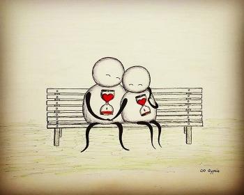 Депрессивные комиксы о любви