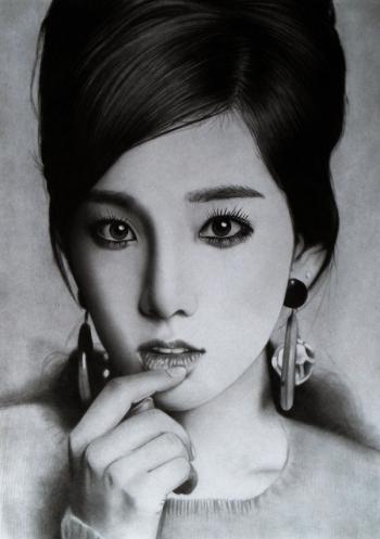 Графитовые портреты Кена Ли (34 фото) - «Хорошее настроение»