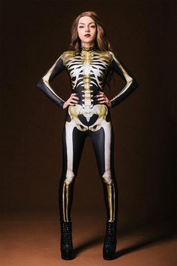 Костюм со светящимся в ультрафиолете скелетом, превращающий вас в рентгеновский снимок (10 фото) - «Хорошее настроение»