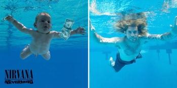Повзрослевший малыш с обложки альбома группы Nirvana (2 фото) - «Хорошее настроение»
