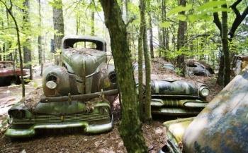 Свалка классических автомобилей в США (17 фото) - «Хорошее настроение»