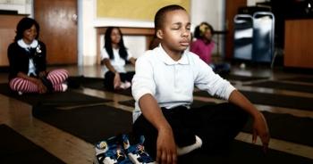 В этой школе наказания заменили медитацией, и результаты впечатляют! ! - «Фото»