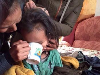 В Туве потерявшийся трехлетний мальчик три дня провел в лесу (3 фото) - «Хорошее настроение»