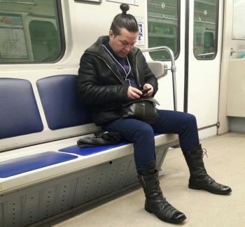 Модники из российского метрополитена - «Хорошее настроение»