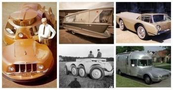 20 автомонстров из прошлого, которые заставят вас воскликнуть - что это такое? (21фото)