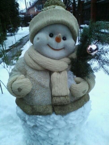 Необычные и прикольные снеговики