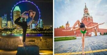 Фотограф отправился в кругосветное путешествие, чтобы показать красоту йоги в разных уголках нашего мира (26фото)