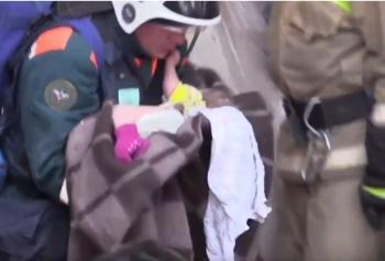 Из-под завалов в Магнитогорске спасли 10-месячного младенца (5фото+2видео)