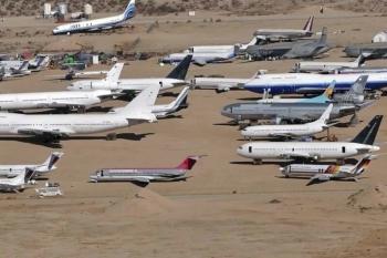 Птичек жалко: как устроены кладбища самолетов (28фото)