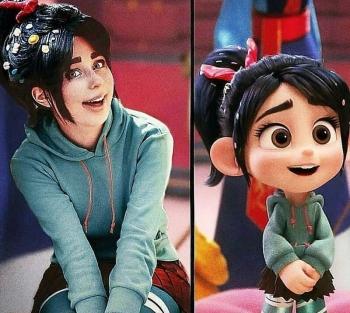 Визажист так точно превращается в героев фильмов и мультиков, что невозможно отличить от оригинала (19фото)