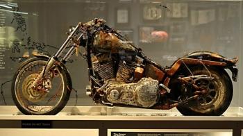Harley-Davidson, который самостоятельно пересёк Тихий океан (10фото)