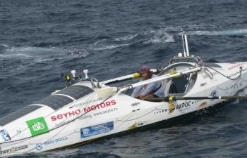 Лодка, на которой Федор Конюхов пересек Тихий океан - «Фото»