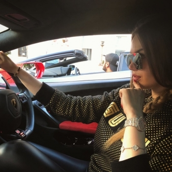 Спорткар Lamborghini Aventador был украшен 2 миллионами кристаллами Swarovski - «Хорошее настроение»