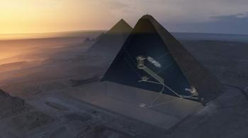 В пирамиде Хеопса обнаружена пустота - «Фото»