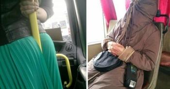 Подсмотрено в общественном транспорте