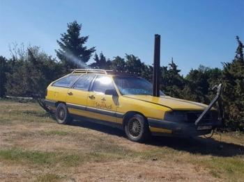 Самый необычный тюнинг старого автомобиля - «Хорошее настроение»