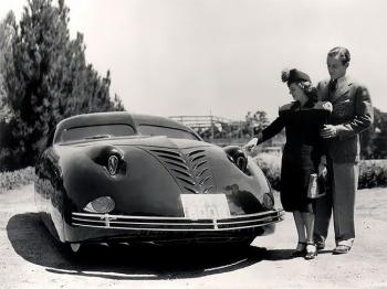 Phantom Corsair 1938 - невероятный автомобиль будущего - «Хорошее настроение»