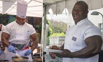 Андре Раш: мускулистый шеф-повар Белого дома - «Фото»