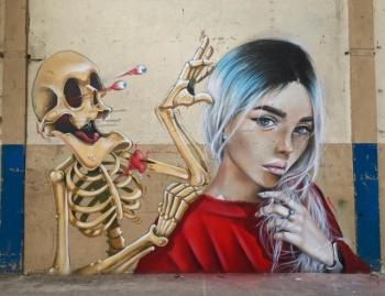 Эффектный стрит-арт от художника SCAF (20 фото)