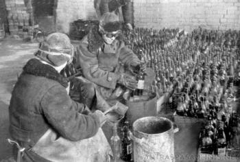 История появления у советских солдат «коктейлей Молотова - «Фото»