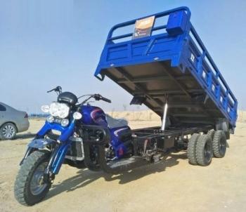 Китайская альтернатива грузовикам - мотоциклы-самосвалы - «Хорошее настроение»