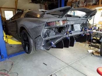 Lamborghini Aventador, распечатанный на 3D-принтере - «Хорошее настроение»