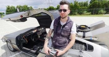 """Парень из Голландии сделал точную копию DeLorean из фильма """"Назад в будущее"""" - «Хорошее настроение»"""