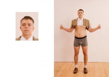 С виду - стандартное фото на паспорт, а за кадром - трэш - «Хорошее настроение»