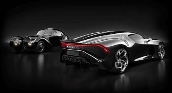 Самый дорогой авто в мире: Bugatti La Voiture Noire продали за ,7 млн - «Хорошее настроение»
